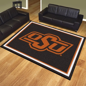 Picture of Oklahoma State 8'x10' Plush Rug
