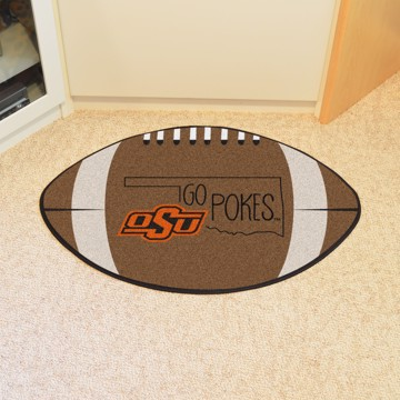 Picture of Oklahoma State Southern Style Football Mat