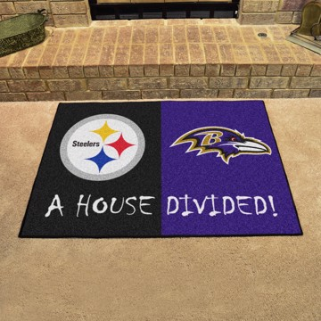 Picture of NFL House Divided - Steelers / Ravens