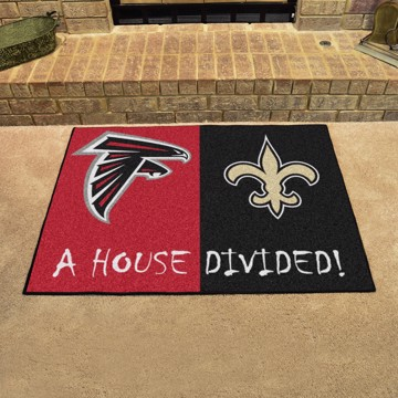 Picture of NFL House Divided - Falcons / Saints
