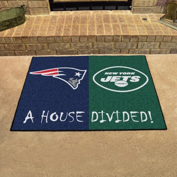 Picture of NFL House Divided - Patriots / Jets
