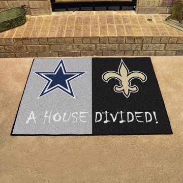 Picture of NFL House Divided - Cowboys / Saints