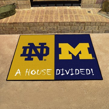 Picture of House Divided - Notre Dame / Michigan