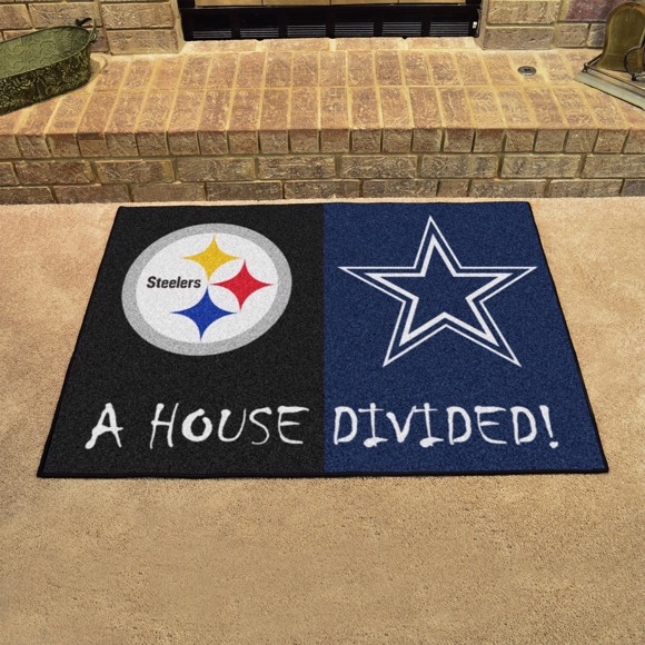 Picture of NFL House Divided - Steelers / Cowboys