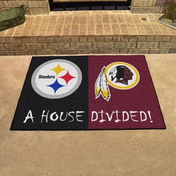 Picture of NFL House Divided - Steelers / Redskins