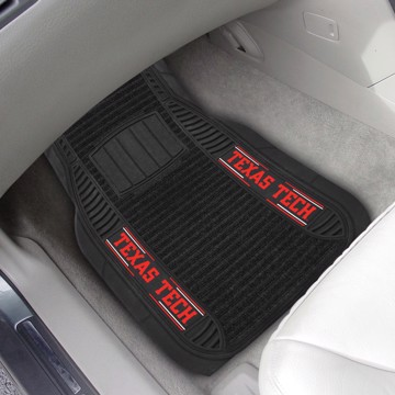 Picture of Texas Tech Deluxe Car Mat Set