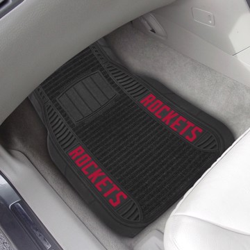 Picture of NBA - Houston Rockets Deluxe Car Mat Set