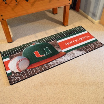 Picture of Miami Baseball Runner