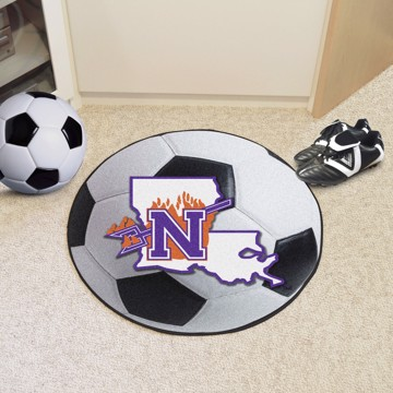 Picture of Northwestern State Soccer Ball Mat