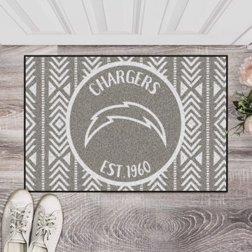 Picture of NFL - Los Angeles Chargers Southern Style Starter Mat
