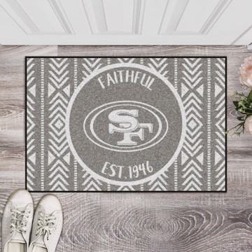 Picture of NFL - San Francisco 49ers Southern Style Starter Mat