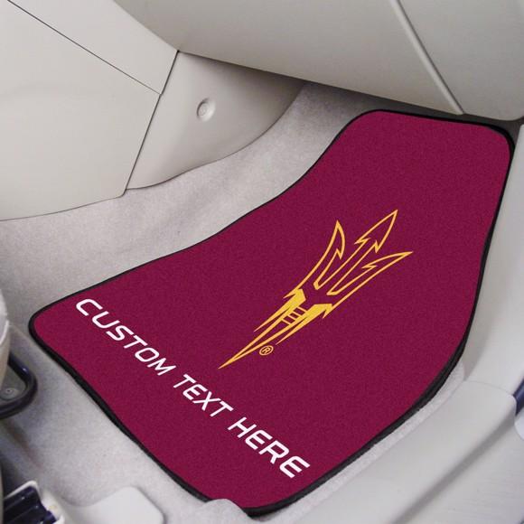 Picture of Arizona State Personalized Carpet Car Mat Set