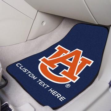 Picture of Auburn Personalized Carpet Car Mat Set