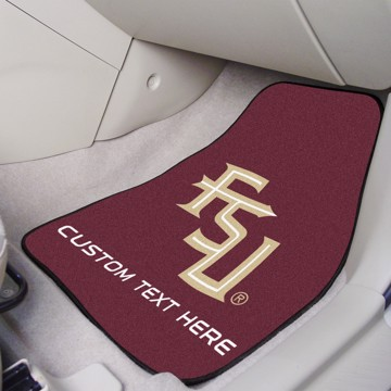 Picture of Florida State Personalized Carpet Car Mat Set