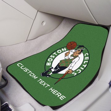 Picture of NBA - Boston Celtics Personalized Carpet Car Mat Set