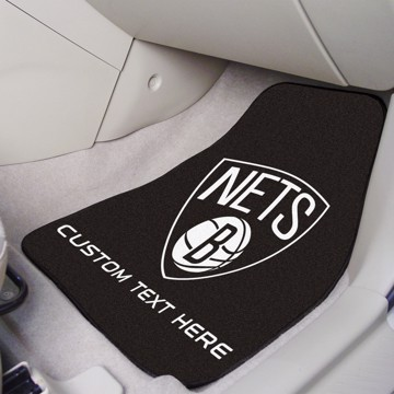 Picture of NBA - Brooklyn Nets Personalized Carpet Car Mat Set