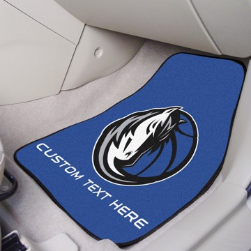 Picture of NBA - Dallas Mavericks Personalized Carpet Car Mat Set