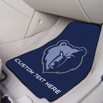 Picture of NBA - Memphis Grizzlies Personalized Carpet Car Mat Set
