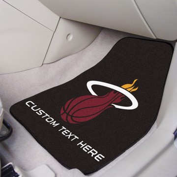 Picture of NBA - Miami Heat Personalized Carpet Car Mat Set
