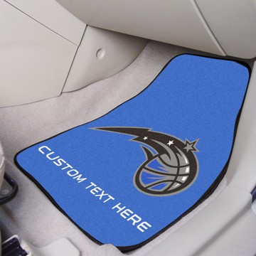 Picture of NBA - Orlando Magic Personalized Carpet Car Mat Set