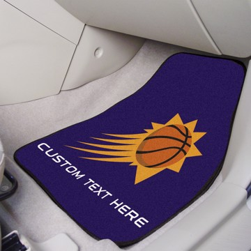 Picture of NBA - Phoenix Suns Personalized Carpet Car Mat Set