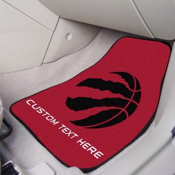 Picture of NBA - Toronto Raptors Personalized Carpet Car Mat Set
