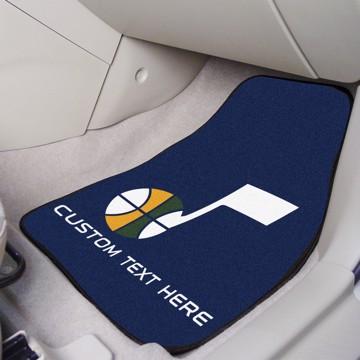 Picture of NBA - Utah Jazz Personalized Carpet Car Mat Set