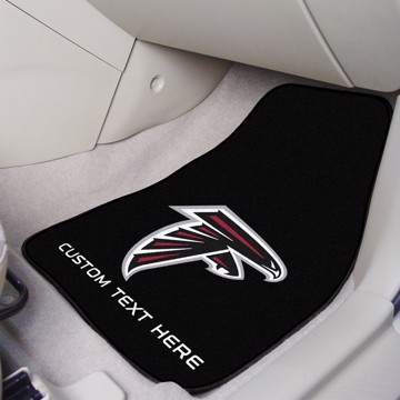 Picture of NFL - Atlanta Falcons Personalized Carpet Car Mat Set