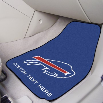 Picture of NFL - Buffalo Bills Personalized Carpet Car Mat Set