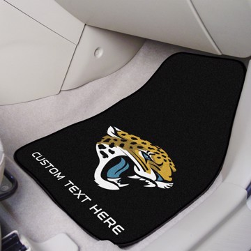 Picture of NFL - Jacksonville Jaguars Personalized Carpet Car Mat Set