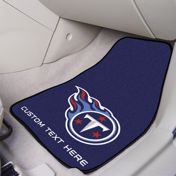 Picture of NFL - Tennessee Titans Personalized Carpet Car Mat Set