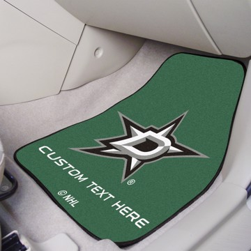 Picture of NHL - Dallas Stars Personalized Carpet Car Mat Set