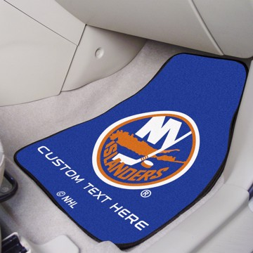 Picture of NHL - New York Islanders Personalized Carpet Car Mat Set