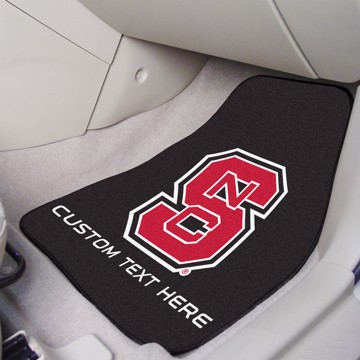 Picture of NC State Personalized Carpet Car Mat Set
