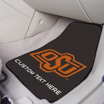 Picture of Oklahoma State Personalized Carpet Car Mat Set