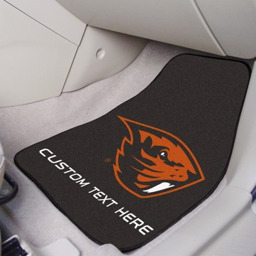 Picture of Oregon State Personalized Carpet Car Mat Set