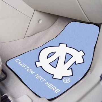 Picture of North Carolina Personalized Carpet Car Mat Set