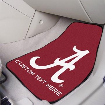 Picture of Alabama Personalized Carpet Car Mat Set