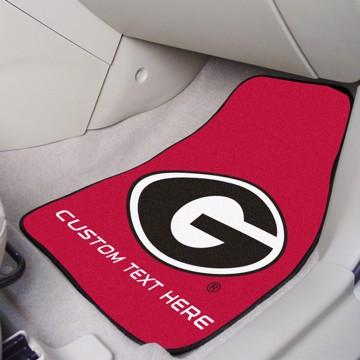 Picture of Georgia Personalized Carpet Car Mat Set