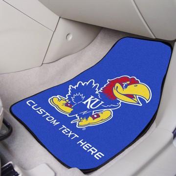 Picture of Kansas Personalized Carpet Car Mat Set