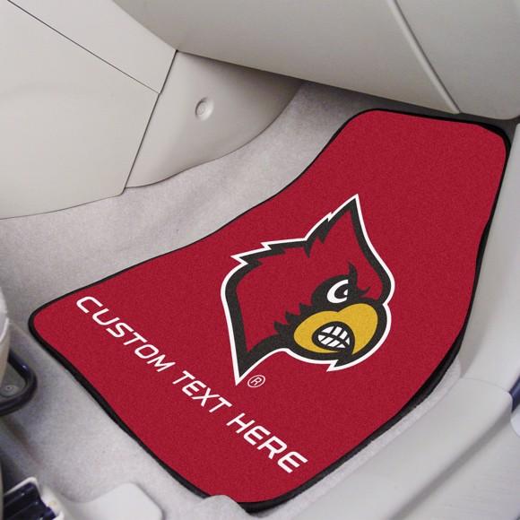 Picture of Louisville Personalized Carpet Car Mat Set