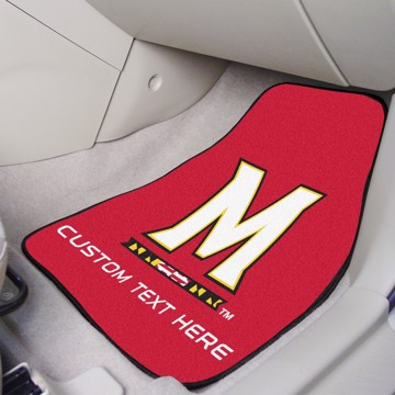 Picture of Maryland Personalized Carpet Car Mat Set