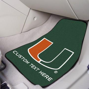 Picture of Miami Personalized Carpet Car Mat Set
