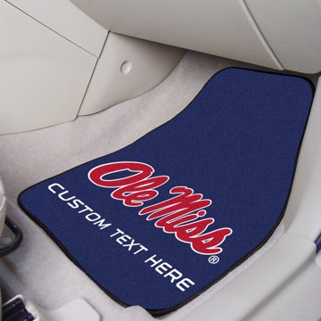 Picture of Ole Miss Personalized Carpet Car Mat Set