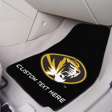 Picture of Missouri Personalized Carpet Car Mat Set