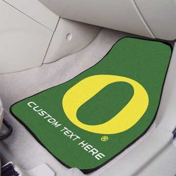 Picture of Oregon Personalized Carpet Car Mat Set