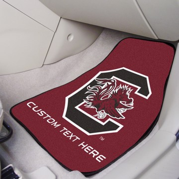 Picture of South Carolina Personalized Carpet Car Mat Set