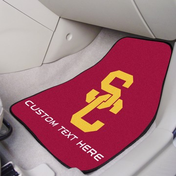 Picture of Southern California Personalized Carpet Car Mat Set