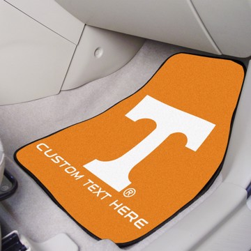 Picture of Tennessee Personalized Carpet Car Mat Set