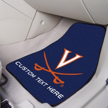 Picture of Virginia Personalized Carpet Car Mat Set